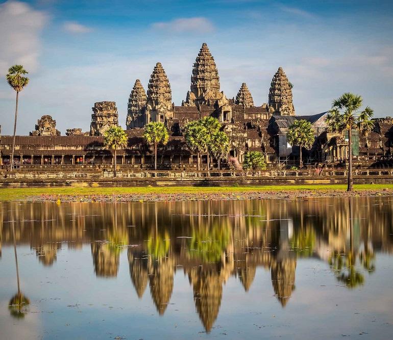 Quần thể Angkor Wat nổi tiếng