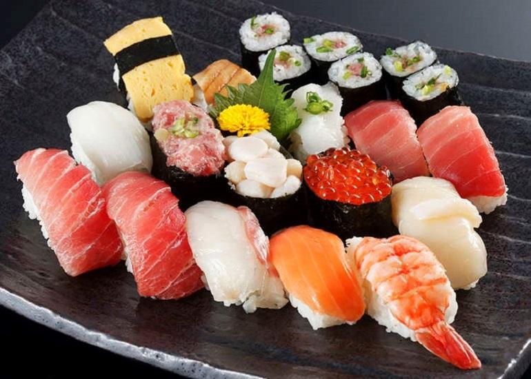 Sushi ngon nổi tiếng của Nhật Bản