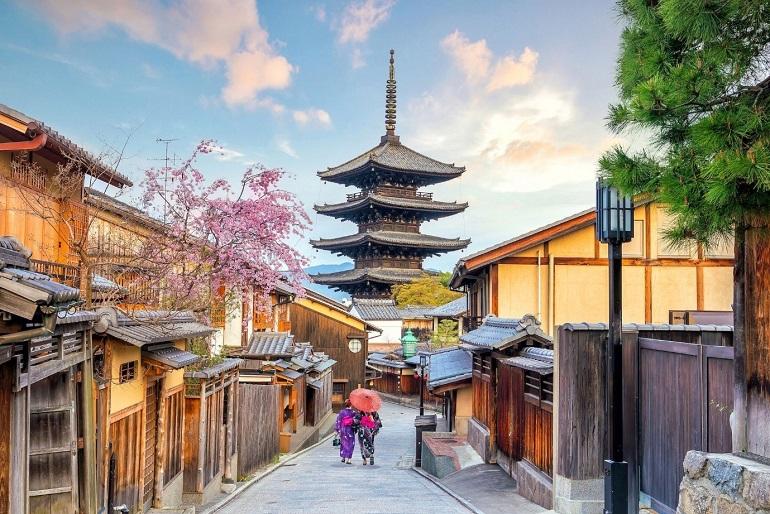 Cố đô Kyoto của Nhật Bản