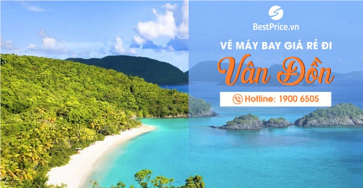 Đặt vé máy bay giá rẻ đi Vân Đồn, Quảng Ninh