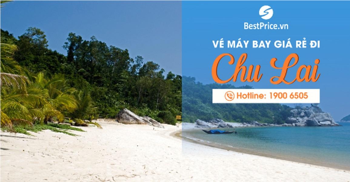 Đặt vé máy bay giá rẻ đi Chu Lai