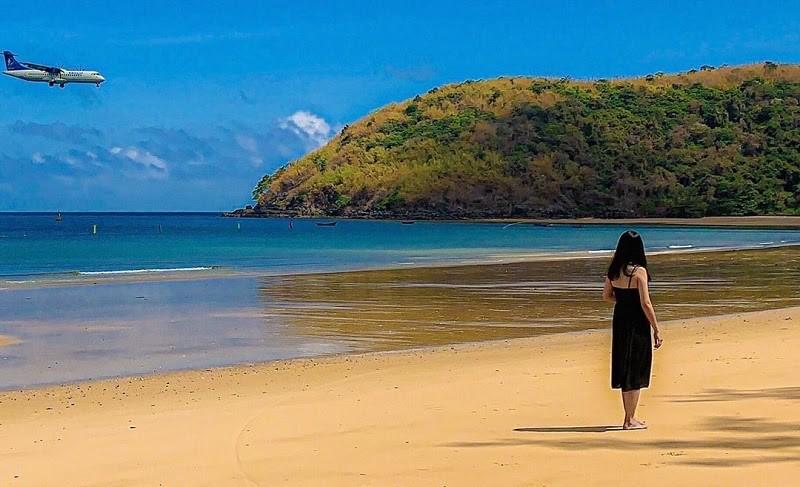Đặt vé máy bay du lịch Côn Đảo tại bãi biển Đầm Trầu