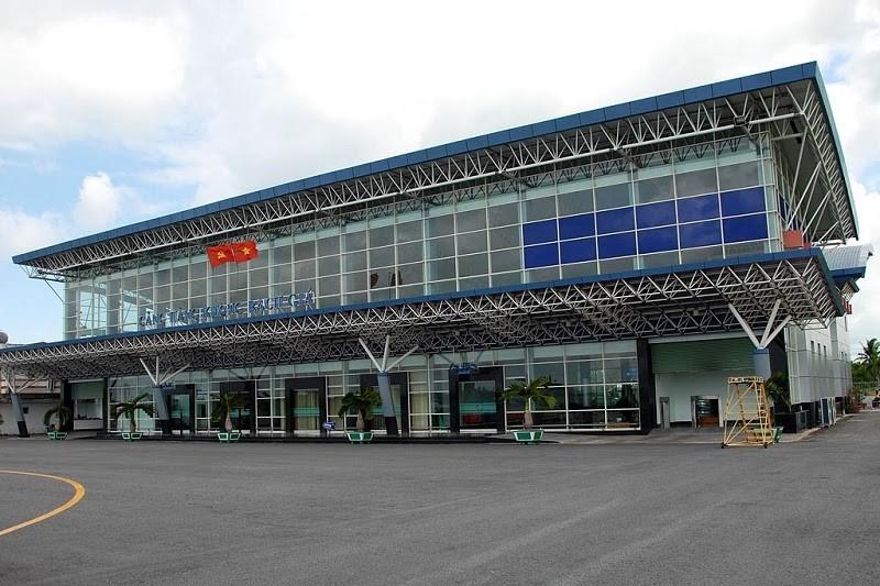 Sân bay Rạch Giá, Kiên Giang.