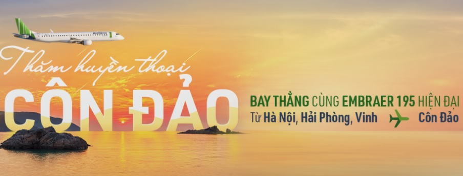 Vé máy bay đi Côn Đảo Bamboo Airways
