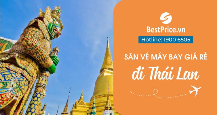 Săn vé máy bay giá rẻ đi Thái Lan
