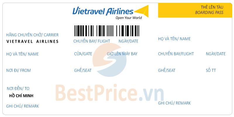 Vé máy bay Vietravel Airlines đi Sài Gòn (Hồ Chí Minh)