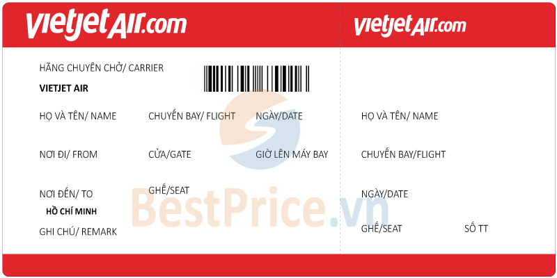 Vé máy bay Vietjet Air đi Sài Gòn (Hồ Chí Minh)