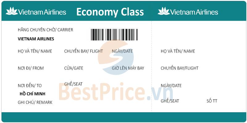Vé máy bay Vietnam Airlines đi Sài Gòn (Hồ Chí Minh)