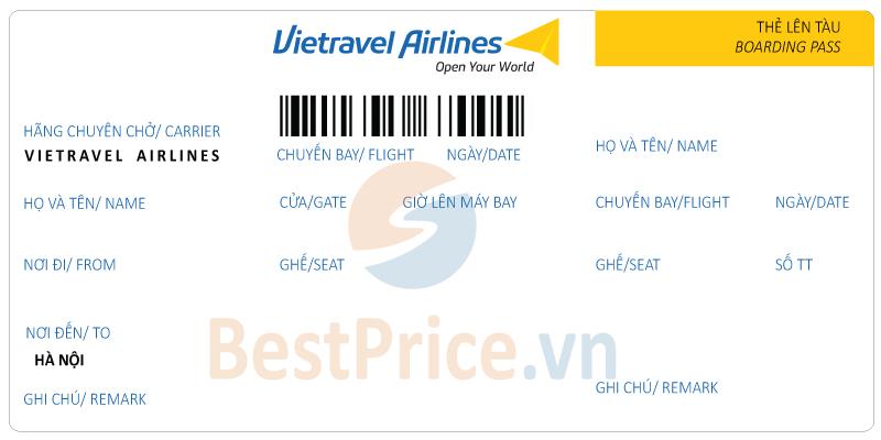 Vé máy bay Vietravel Airlines đi Hà Nội