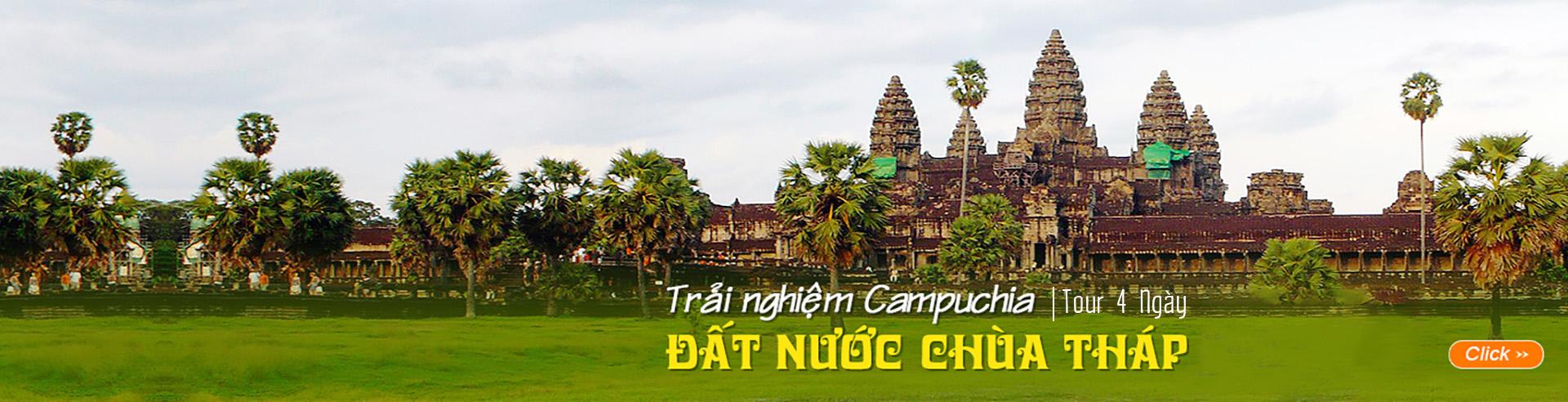 Campuchia: Trải nghiệm Campuchia đất nước chùa tháp