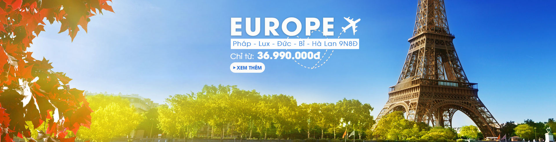 Châu Âu: hành trình du ngoạn Châu Âu