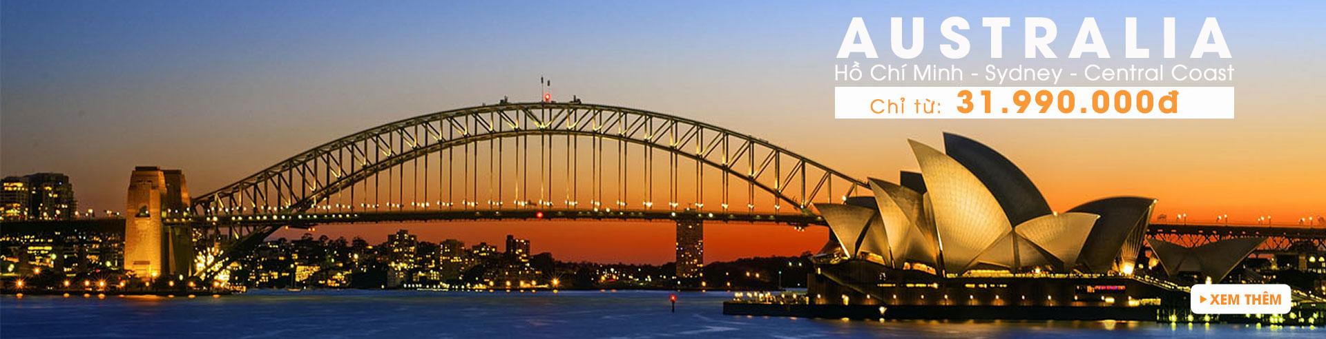Châu Úc: Tận hưởng thiên đường thư giãn Úc- Newzealand
