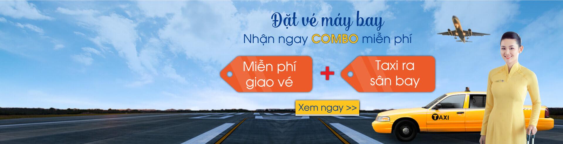 Free giao vé + Taxi