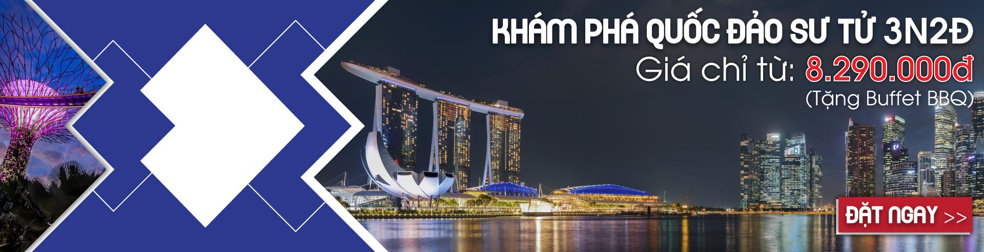 HCM Singapore Khám phá quốc đảo sư tử