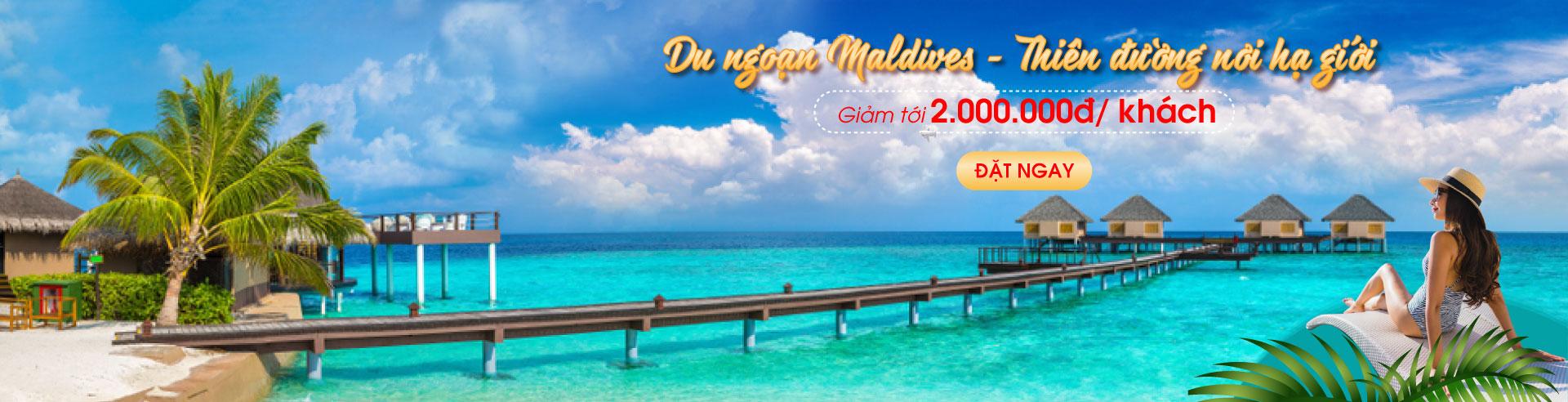 Maldives: Nơi giấc mơ thành hiện thực
