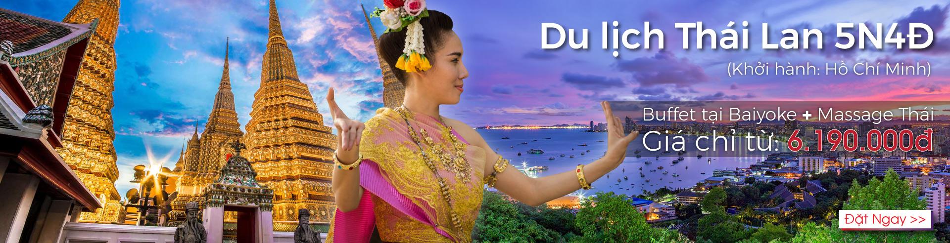 Tour Thái - HCM