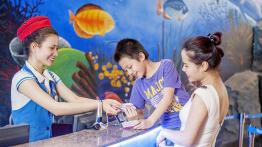 Vé Combo VinKE + Thủy cung Aquarium Times City