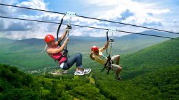 Vé Đu Dây Mạo Hiểm High Rope - thác Datanla Đà Lạt