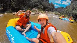 Vé Trượt thác + Zipline Khu du lịch Hòa Phú Thành (Miễn phí xe trung chuyển)