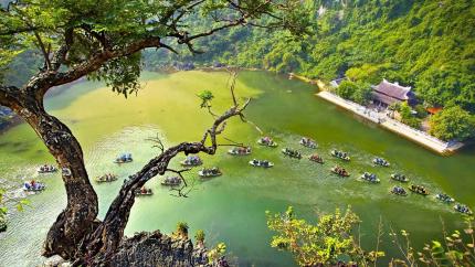 Hà Nội - Bái Đính - Tràng An - Hoa Lư - Hang Múa - Tam Cốc 2N1Đ