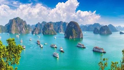 Sài Gòn - Hà Nội - Ninh Bình - Hạ Long - Yên Tử 4N3Đ (chưa bao gồm vé may bay)