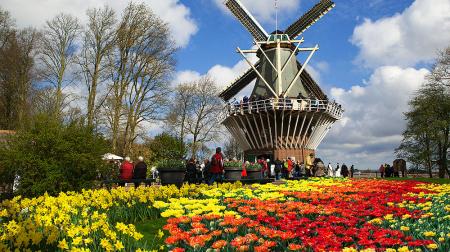 Châu Âu 9N8Đ: Pháp - Bỉ - Hà Lan - Đức