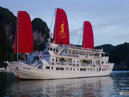Free & Easy siêu HOT 3N2Đ: Khách sạn Hạ Long Plaza & Du thuyền 4* Syrena Cruises