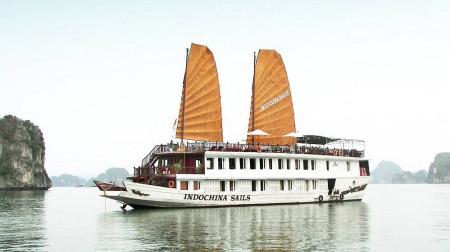 Du thuyền Indochina Sails 2 ngày 1 đêm