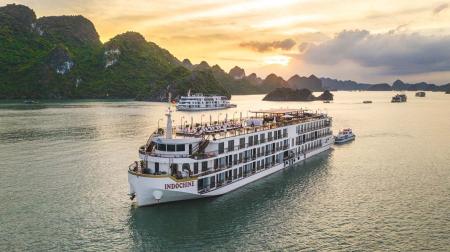Du thuyền Indochine Cruise 2 ngày 1 đêm
