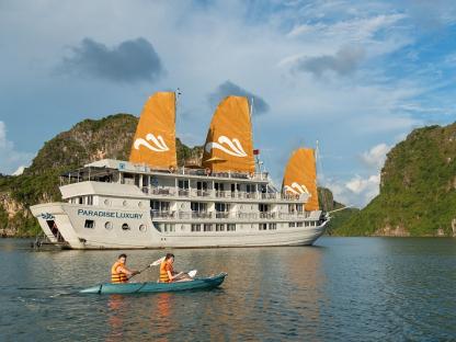 Du thuyền Paradise Luxury 2 ngày 1 đêm
