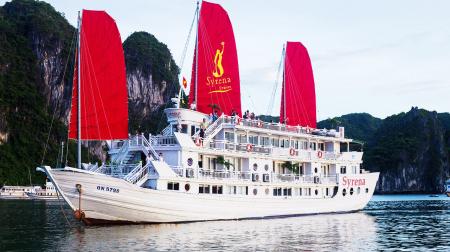 Du thuyền Syrena 2 ngày 1 đêm