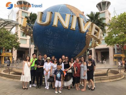 Hồ Chí Minh - Singapore 4N3Đ (1 ngày tự do) Sentosa - Gardens By The Bay