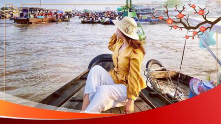 Tết 2021: Hà Nội - Sài Gòn - Cần Thơ - Sóc Trăng - Bạc Liêu - Cà Mau 4N3Đ