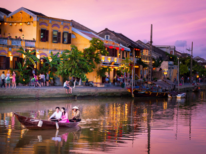 Combo 4N3Đ: Trăng mật ngọt ngào tại khách sạn Đà Nẵng - Hội An + Vé máy bay
