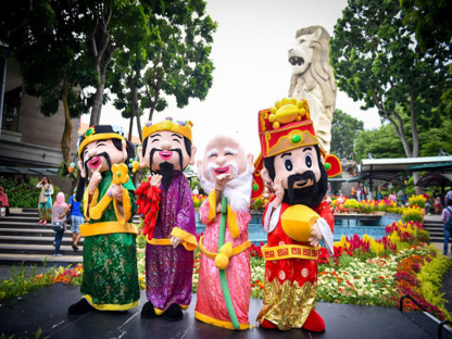 Vi vu Tết Nguyên Đán: Hà Nội - Singapore 4N3Đ