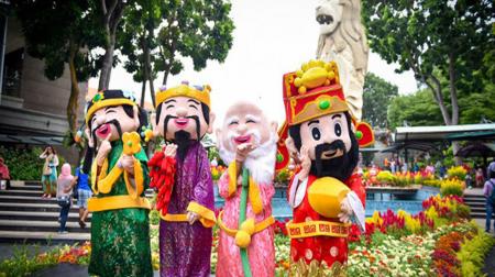 Vi vu Tết Nguyên Đán: Hà Nội - Singapore 4N3Đ (khởi hành mùng 5 tết)