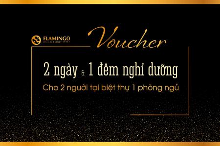 Voucher Flamingo Đại Lải Villa 1 phòng ngủ 2N1Đ