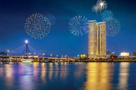 Voucher 3N2Đ: Vinpearl Đà Nẵng Riverfront Condotel Đà Nẵng + Ăn sáng và Vé vui chơi