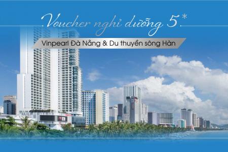 Voucher nghỉ dưỡng đặc biệt 5*: Vinpearl Condotel Riverfront  Đà Nẵng + Du thuyền sông Hàn