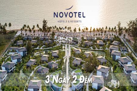 Voucher Novotel Phú Quốc 3N2Đ kèm ăn sáng và vé vui chơi VinpearLand
