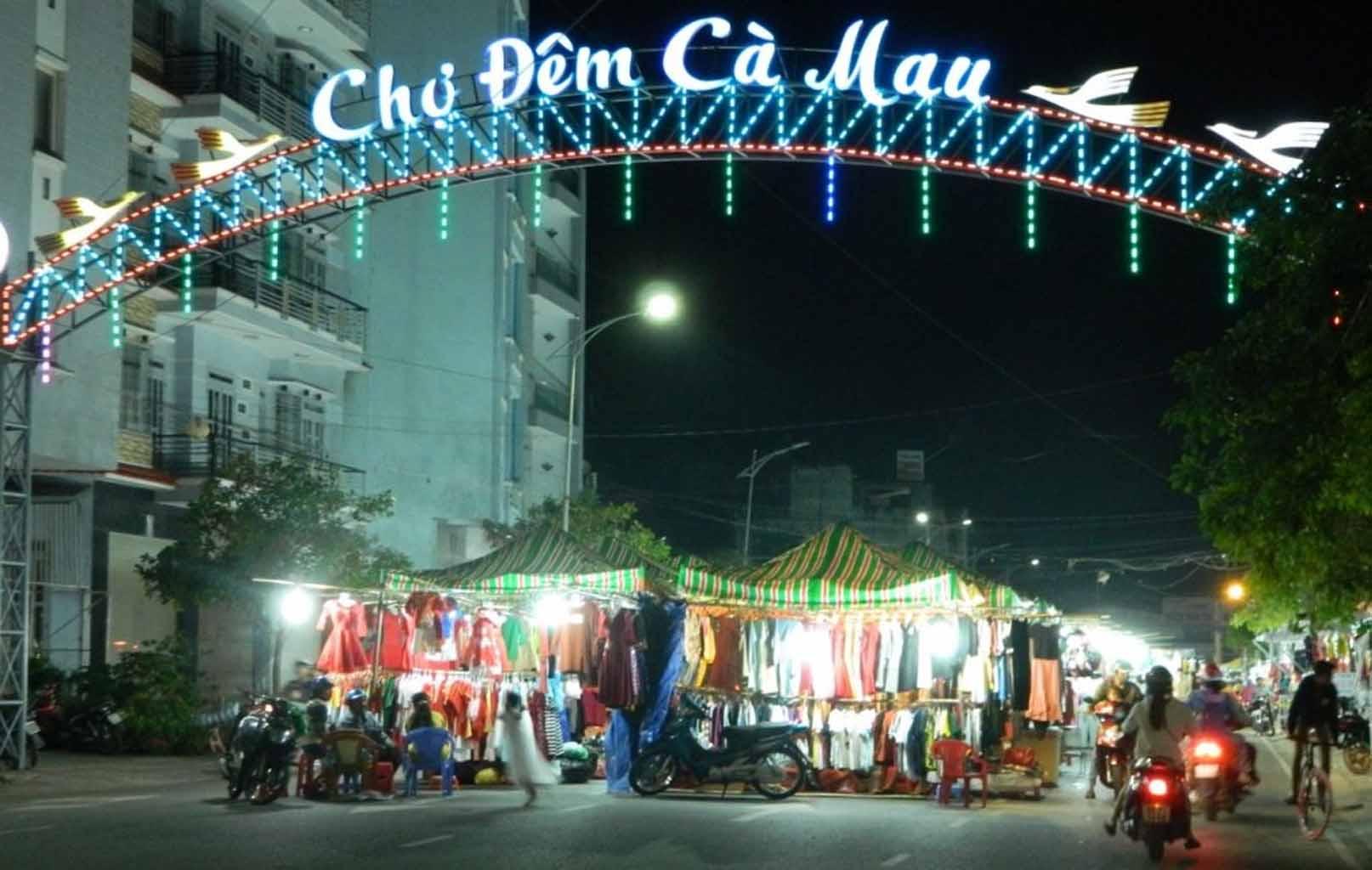 Chợ đêm Cà Mau