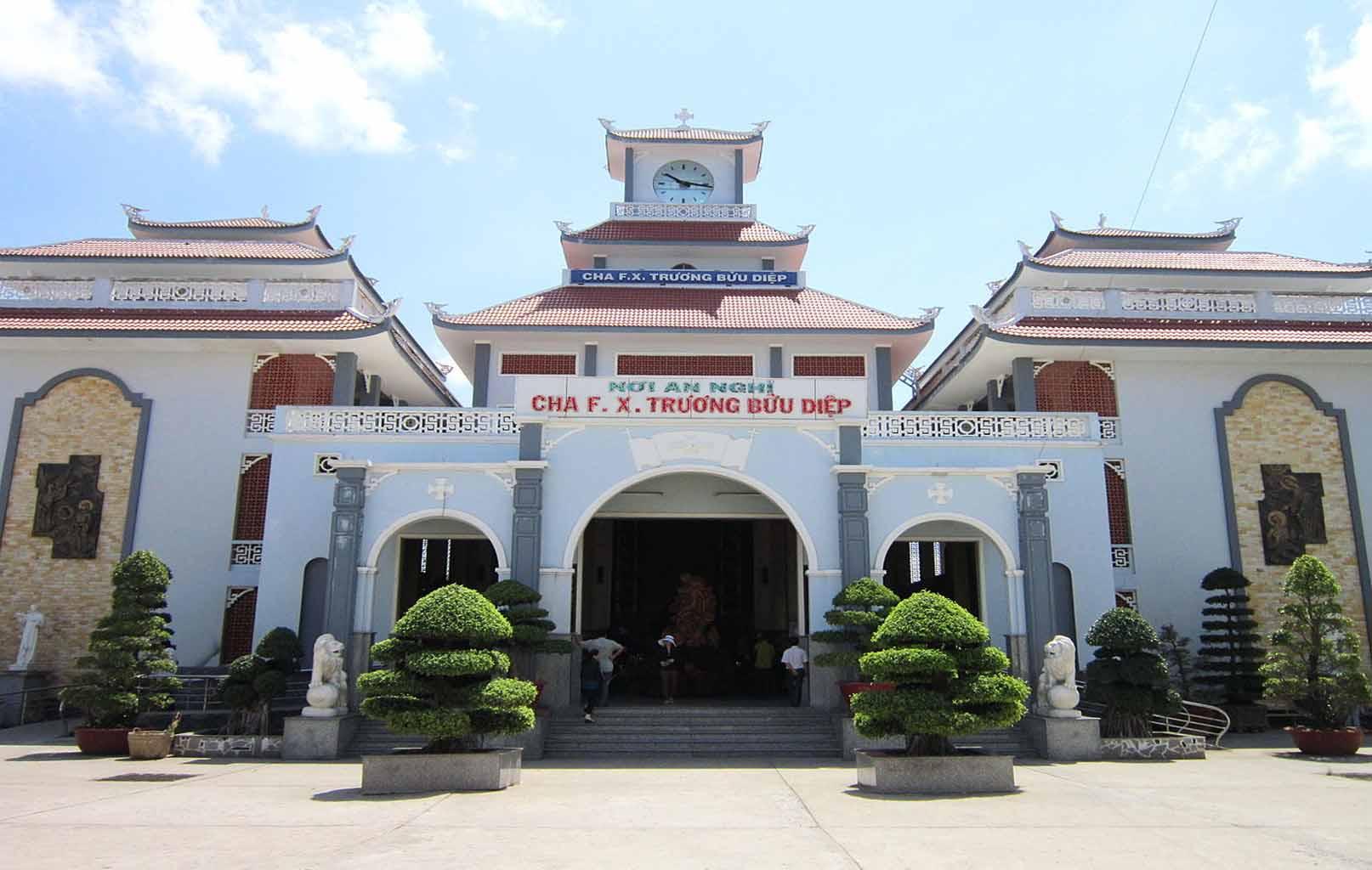 Nơi an nghỉ của Cha Trương Bửu Diệp