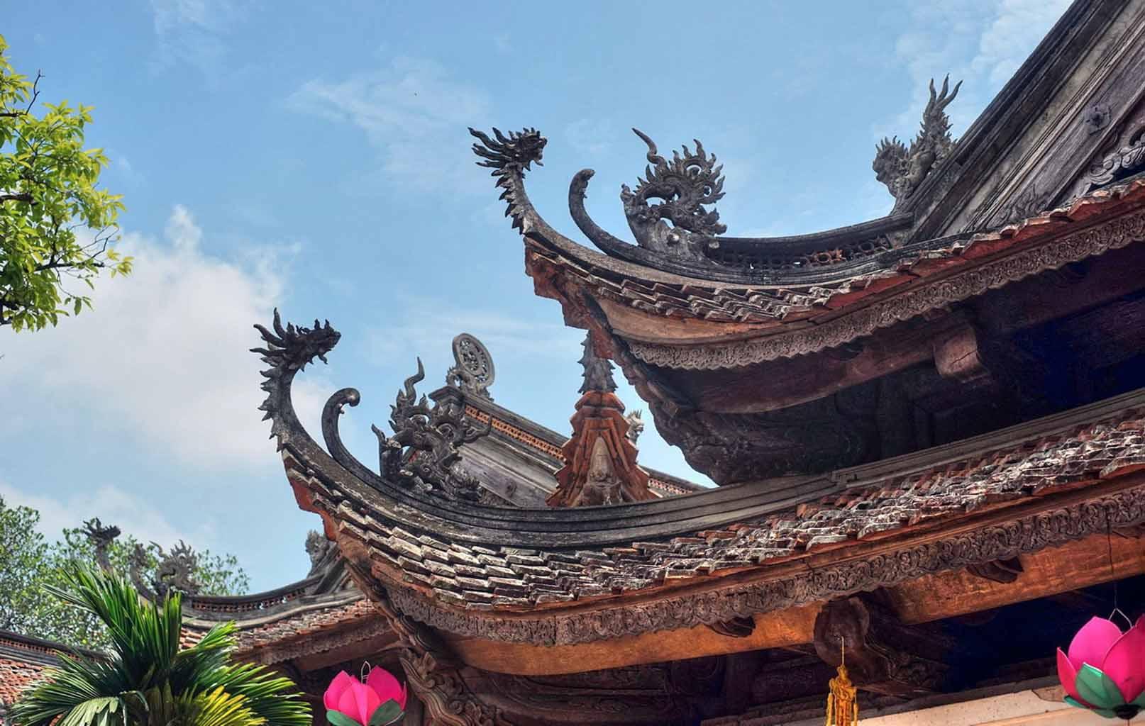 Kiến trúc chùa Tây Phương