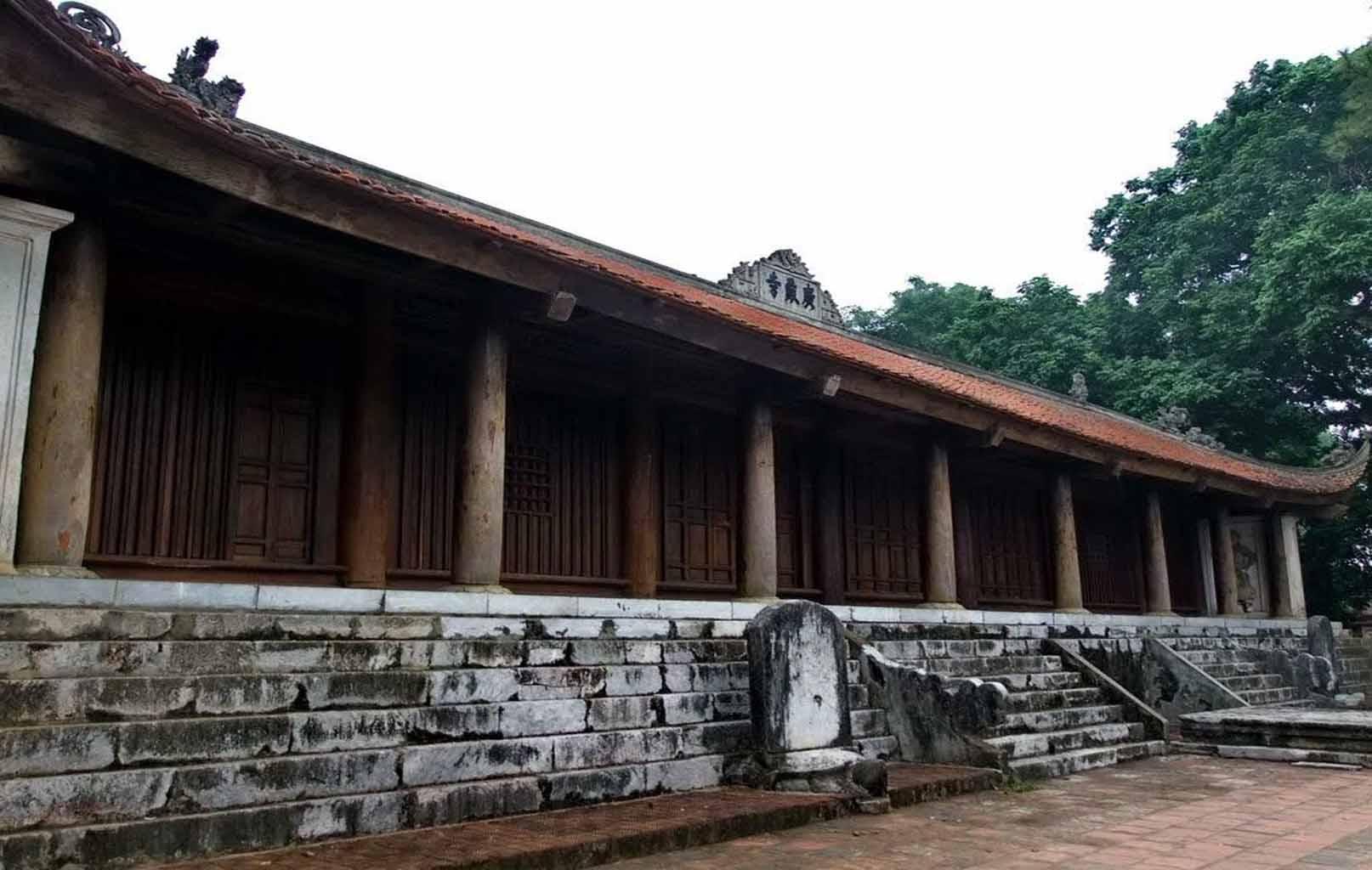 Kiến trúc chùa Trăm Gian