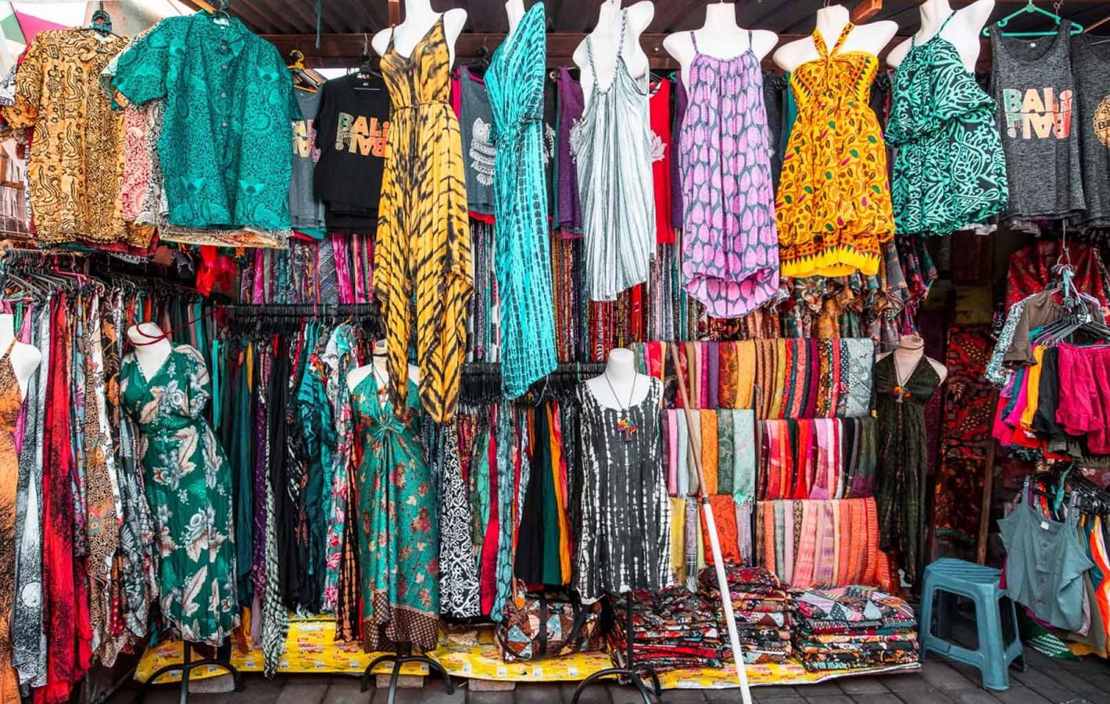 Chợ truyền thống làng Ubud