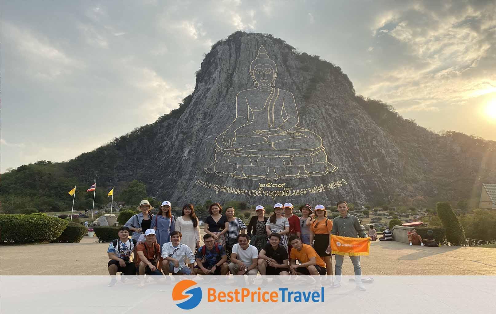 Tham quan Khao Chee Chan - Trân Bảo Phật Sơn