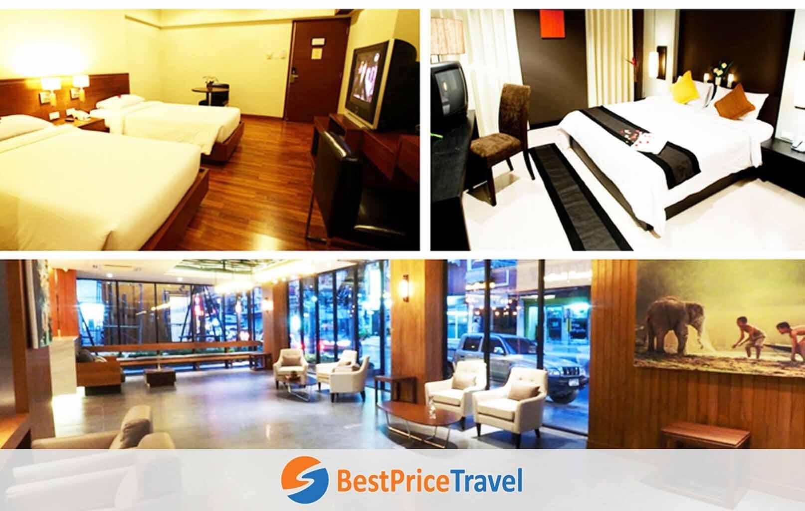 Ảnh tham khảo khách sạn ở Bangkok