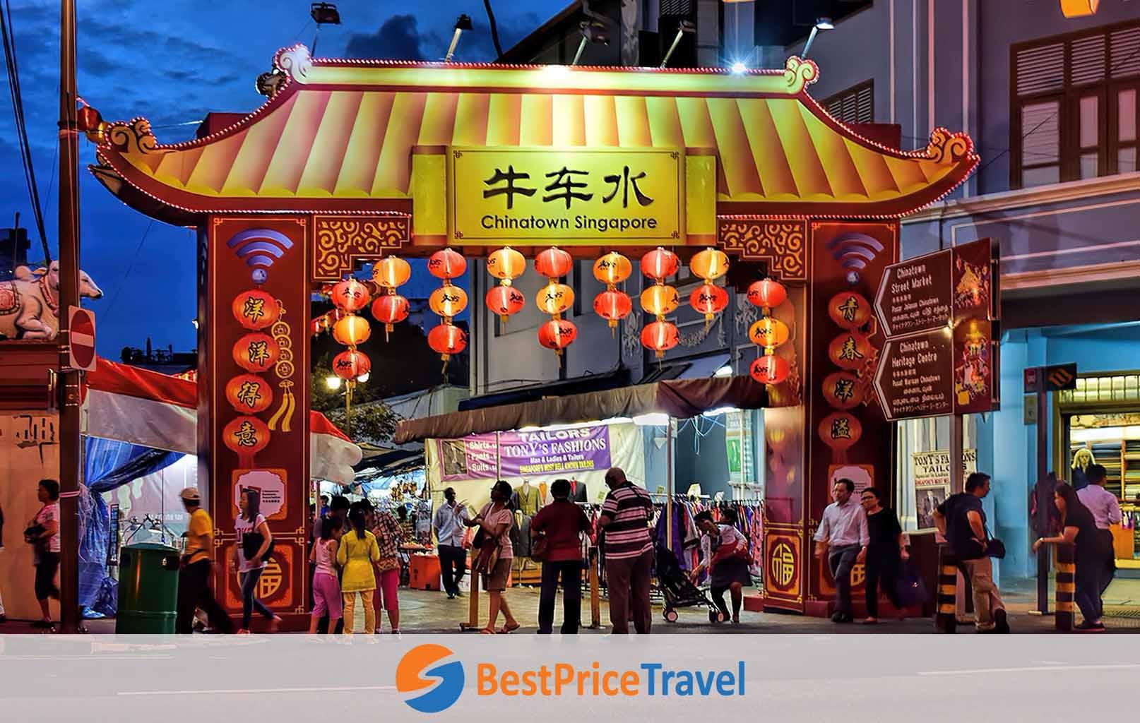 Phố Tàu Singapore - Singapore Chinatown