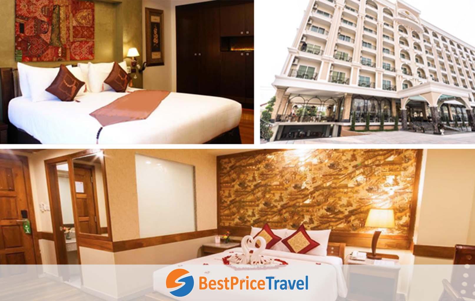 Ảnh tham khảo khách sạn Pattaya