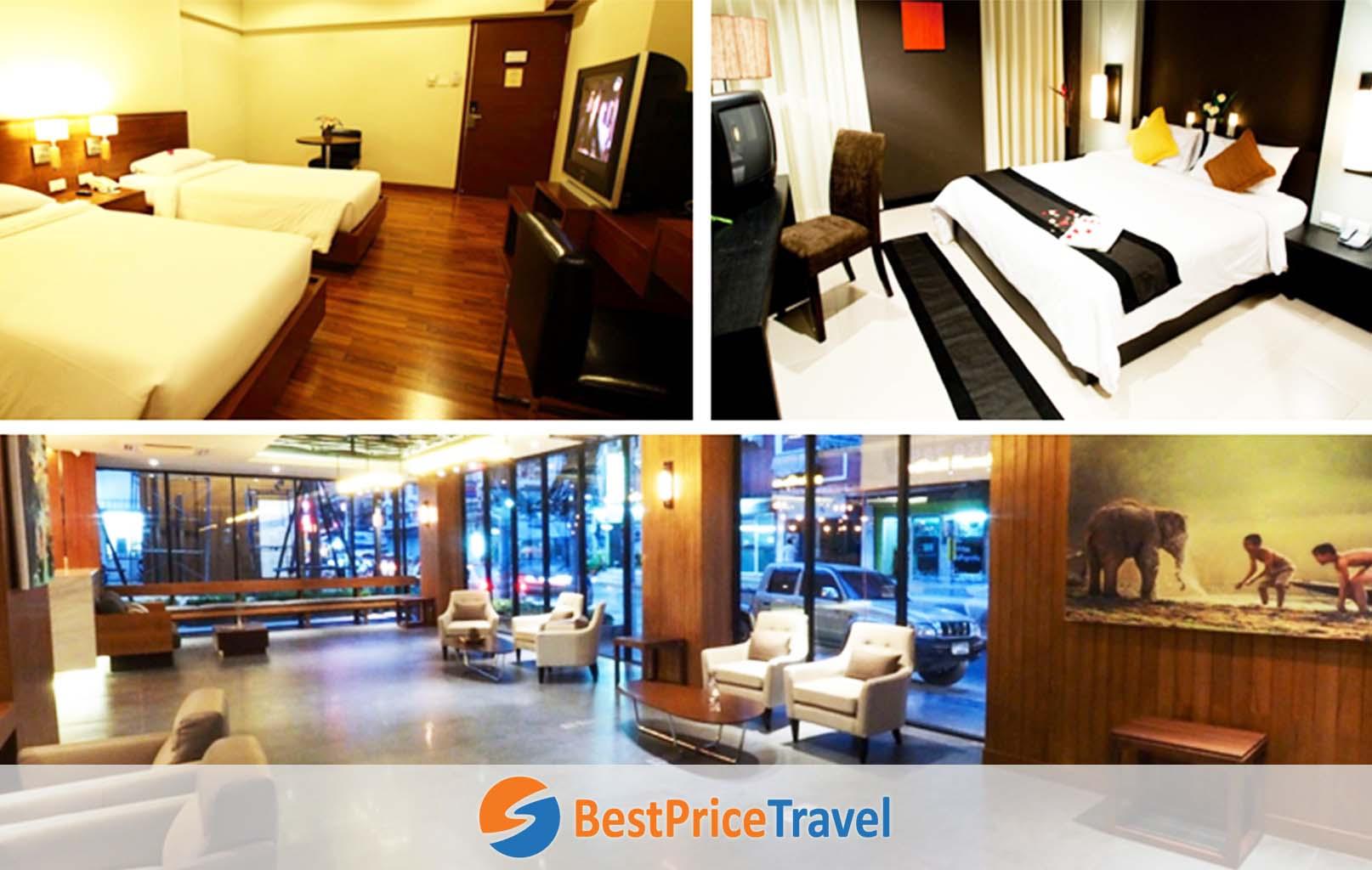 Ảnh tham khảo khách sạn Bangkok